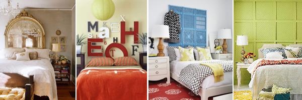 декорирование изголовья кровати дизайн декор