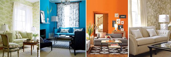 Дизайн гостиной выбор цвета