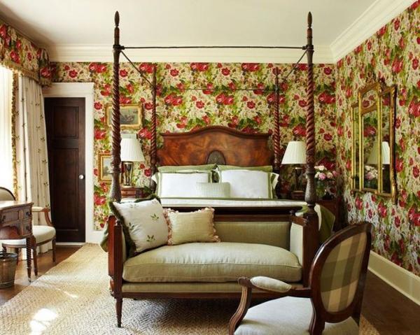 Классическая Спальня в Английском стиле