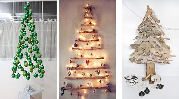 Новогодние елки сделанные своими руками