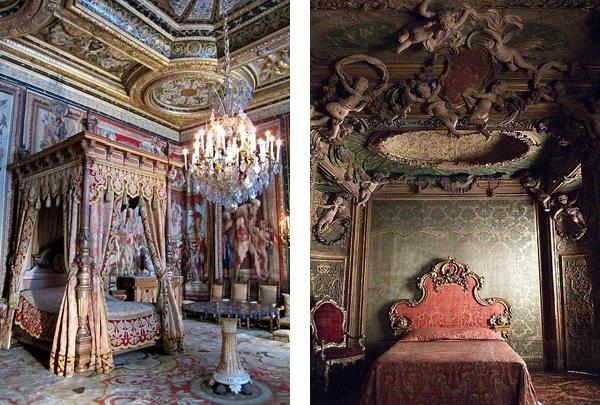 дворцовые интерьеры спален