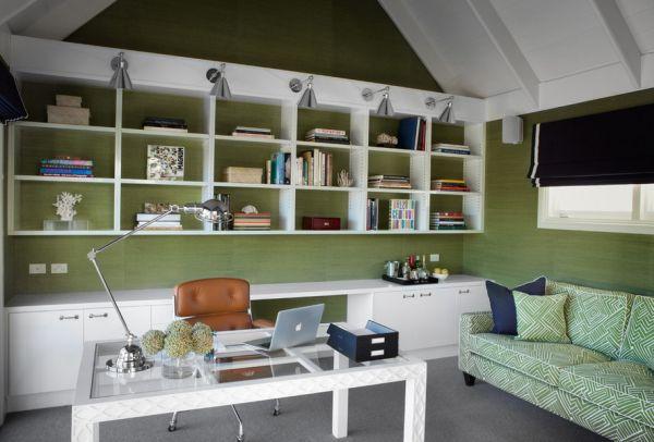 Дизайн проектирование домашнего кабинета