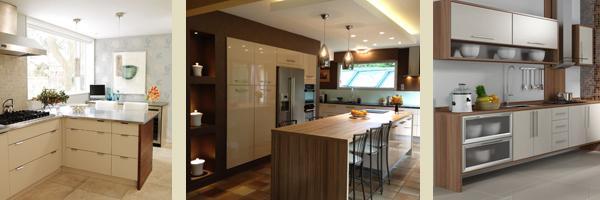 кухни бежевые и коричневые