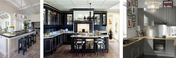 белые кухни
