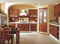 Классические кухни бежевого и коричневого цвета