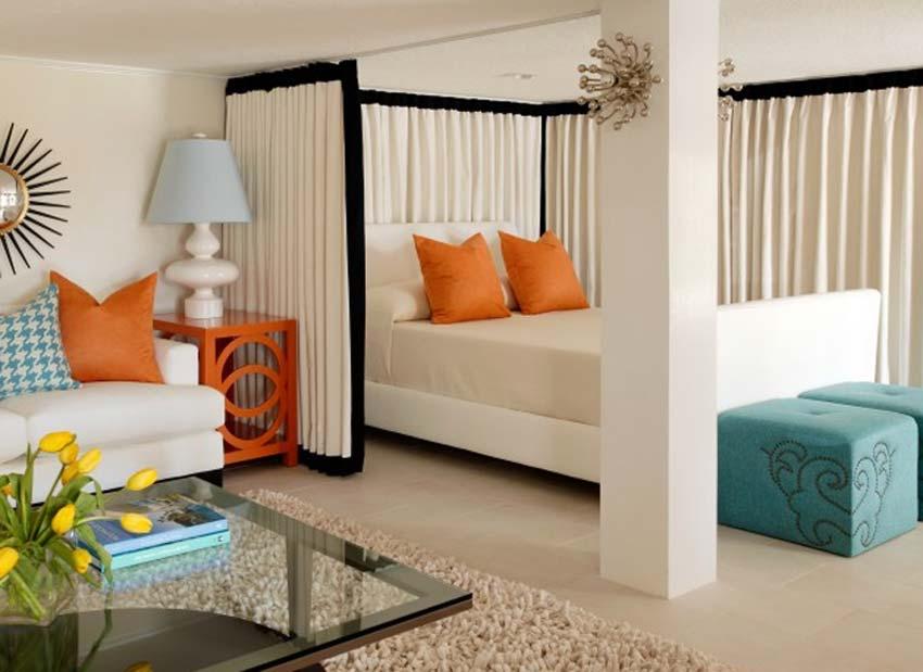 Дизайн гостиной-детской в одной комнате фото