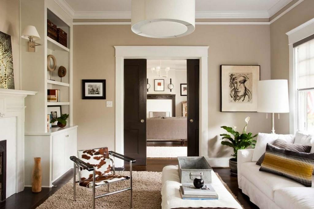 Как сделать гостиную светлее в темной квартире