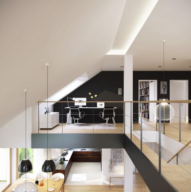 Дизайн кабинета в современном стиле