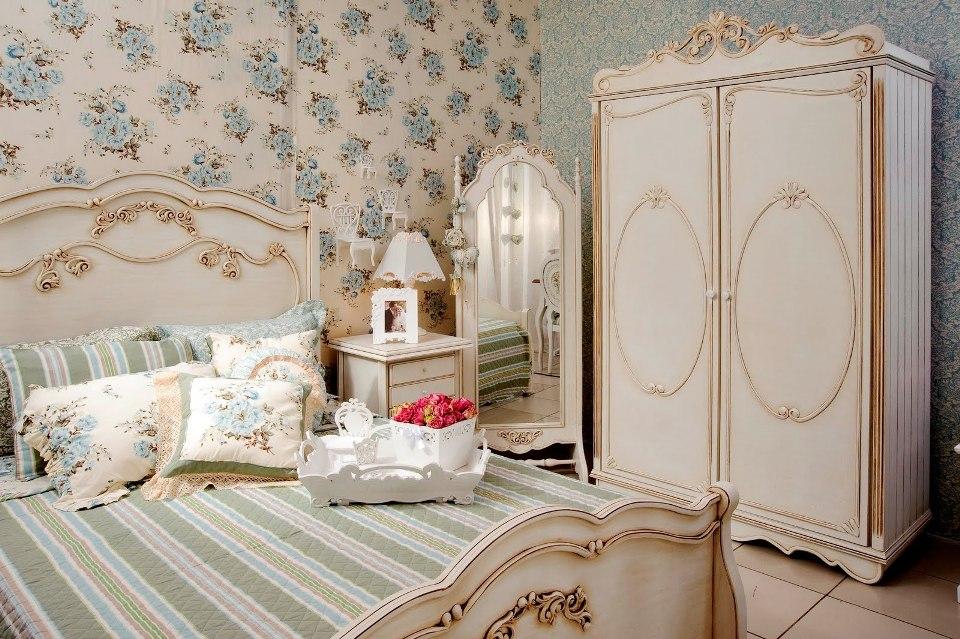 Спальня во французском стиле фото