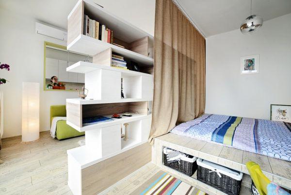 Примеры зонирования комнаты на