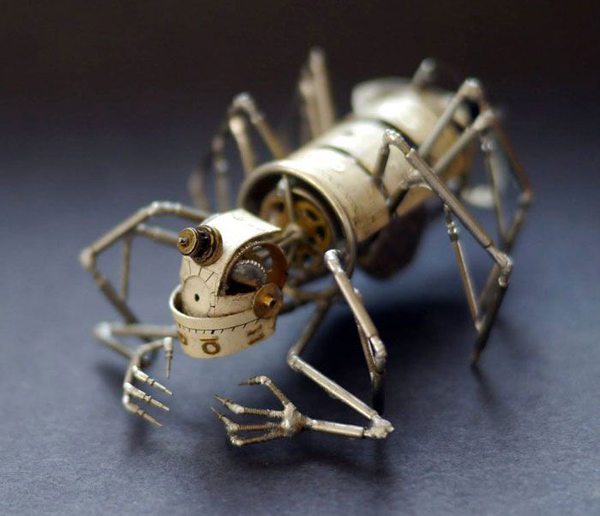 Джастин Гершенсон-Гейтс  (Justin Gershenson-Gates) симпанк насекомые