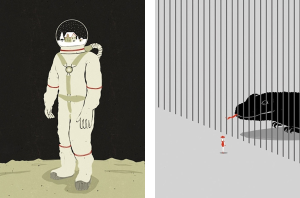 Алессандро Готтардо (Alessandro Gottardo) или Shout иллюстрации