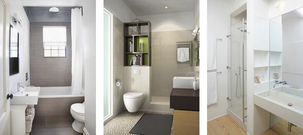 различные варианты размещения сантехники при наличии душевой кабины или ванны.
