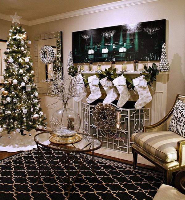 Новогодние интерьеры квартиры своими руками