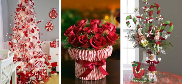 Новогодний декор 2016 в актуальных оттенках красного