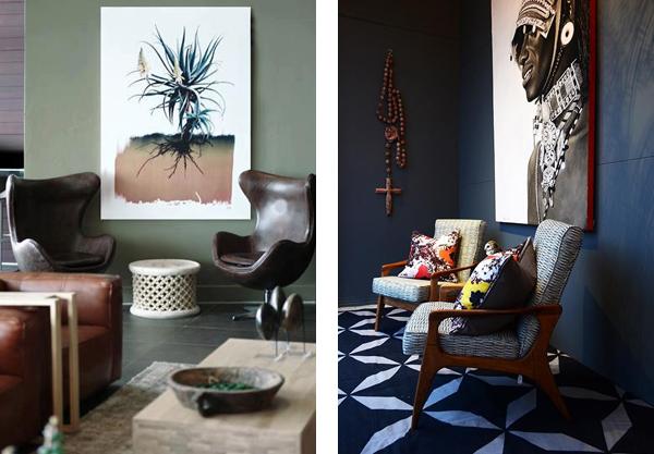 Элементы Африканского стиля в современном интерьере
