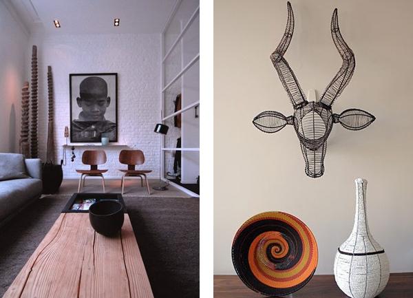 африканский стиль в дизайне интерьера