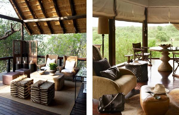 Интерьеры африканских отелей