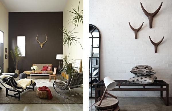 Современные интерьеры с элементами африканского стиля