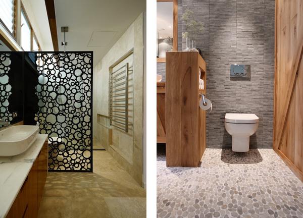 Декоративные перегородки для ванны и санузла фото дизайн