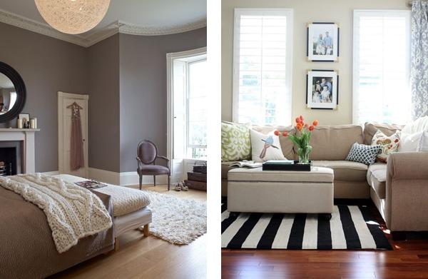ковровая дорожка в интерьере гостиной и спальни