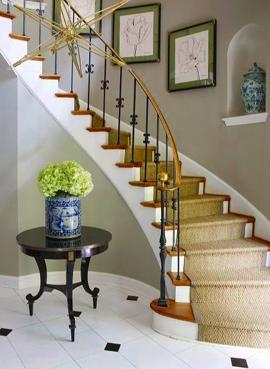ковровая дорожка для лестницы