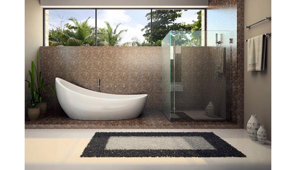 ковровая дорожка в ванной дизайн фото
