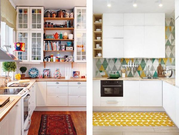 ковровая дорожка на кухне
