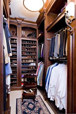 обустройство гардеробной дизайн фото размеры