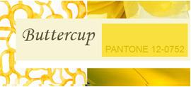 Модный цвет Весна-Лето 2016 –  Buttercup / Лютиковый (Pantone 12-0752)