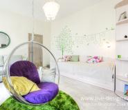 Дизайн интерьера детской для девочки, фото