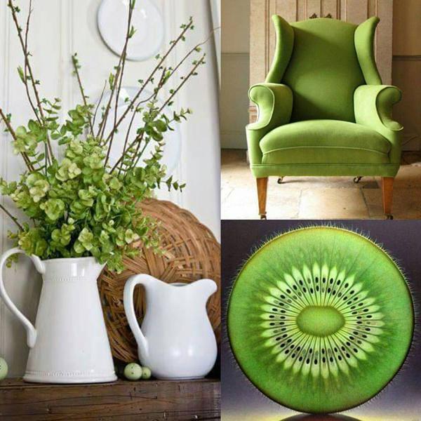 greenery pantone 2017 гринери